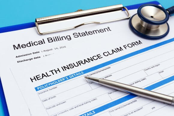 medical billing statement and health insurance claim form